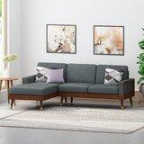 Caples Fabric Left Hand Facing Sectional by Corrigan Studio®