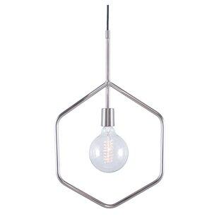 Everly Quinn Evesham 1-Light Geometric Pendant