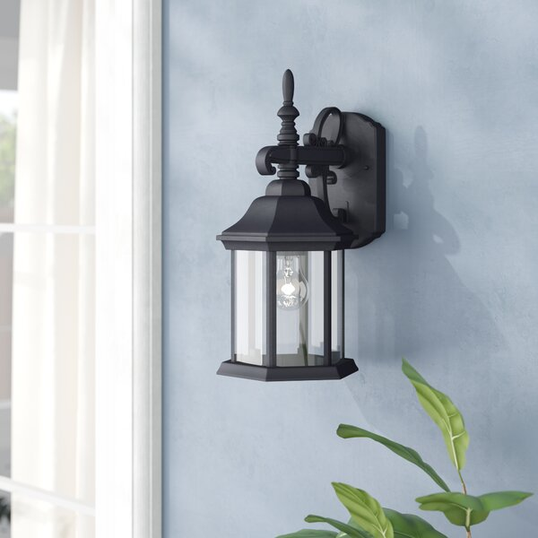Castellanos Outdoor Wall Lantern by Alcott Hill®