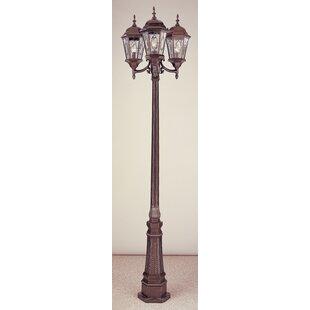 Tucker 3-Light 96 Lamp Post Light