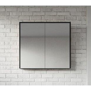 Kesington 80cm X 72cm Surface Mount Mirror Cabinet By Ebern Designs