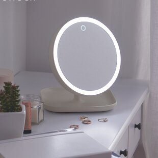 Read Reviews Encanto Illuminating Makeup/Shaving Mirror By Symple Stuff