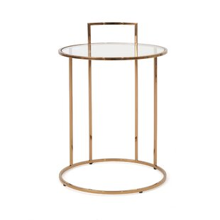 Check Prices Stenya Glam End Table By Wrought Studio