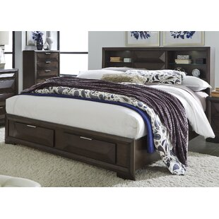 Richburg Underbed Bookcase Bed