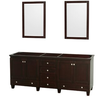 Acclaim 78.75 Double Bathroom Vanity Base by Wyndham Collection