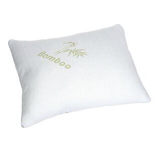 Poole Rayon from Bamboo Medium Polyester Standard Bed Pillow