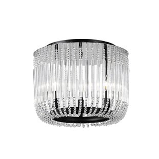 CWI Lighting Francessca 3-Light Flush Mount