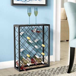 Latitude Run Fulford 32 Bottle Floor Wine Rack