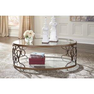 Artvin Coffee Table by Mistana