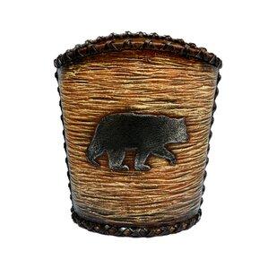 Grotto Bear Waste Basket