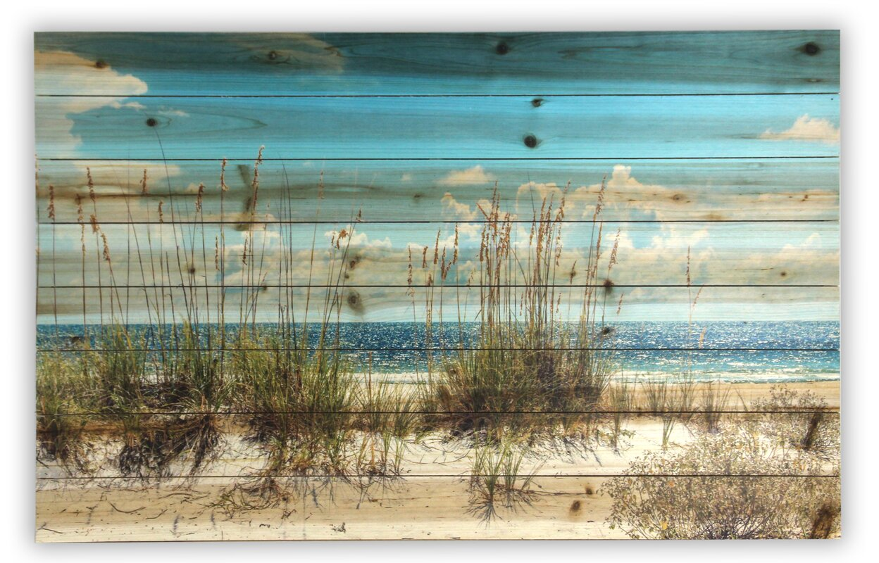Color art printing anchorage -  Sand Dunes Photographic Print