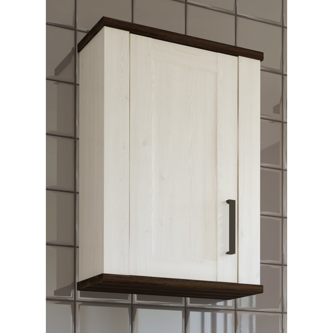 home loft concept 48 4 x 77 5 cm badschrank provence. Black Bedroom Furniture Sets. Home Design Ideas