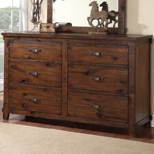 Camas 6 Drawer Dresser by Loon Peak