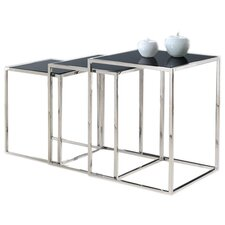 Quadra 3 Piece Nesting Tables by Armen Living