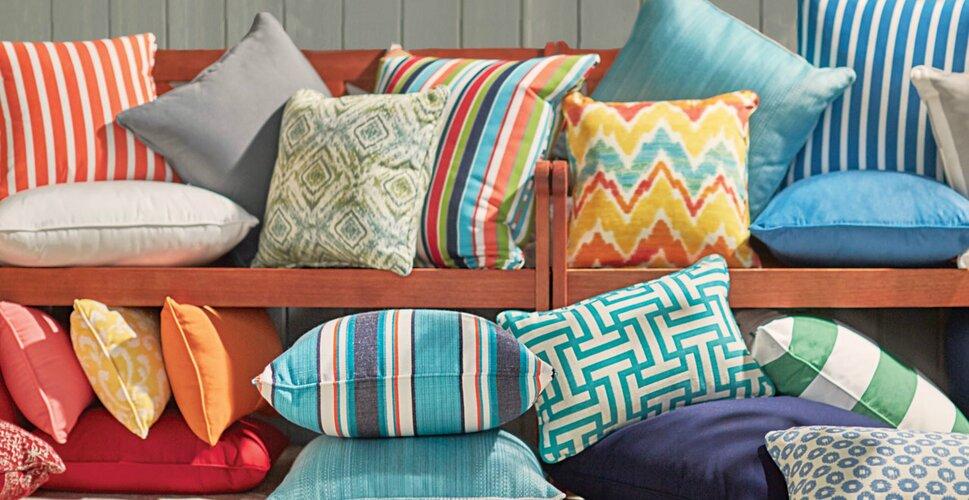 Pillows   Throws You ll Love   Wayfair Sunbrella Throw Pillows. Decorative Pillows For Living Room. Home Design Ideas