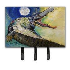 Alligator Leash Holder and Key Hook by Caroline's Treasures