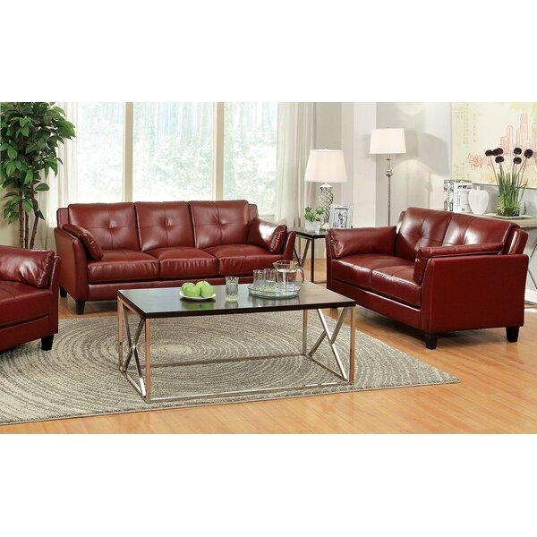Au0026J Homes Studio Newport Sofa And Loveseat Set U0026 Reviews | Wayfair