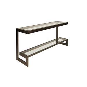 2 Tier Low Console Table