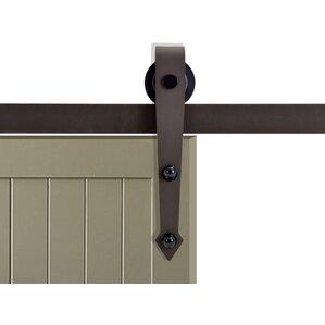 vintage arrow style sliding door track barn door hardware