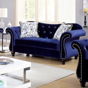 Tabitha Flannelette Sofa by House of Hampton