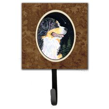 Starry Night Bernese Mountain Dog Leash Holder and Wall Hook by Caroline's Treasures