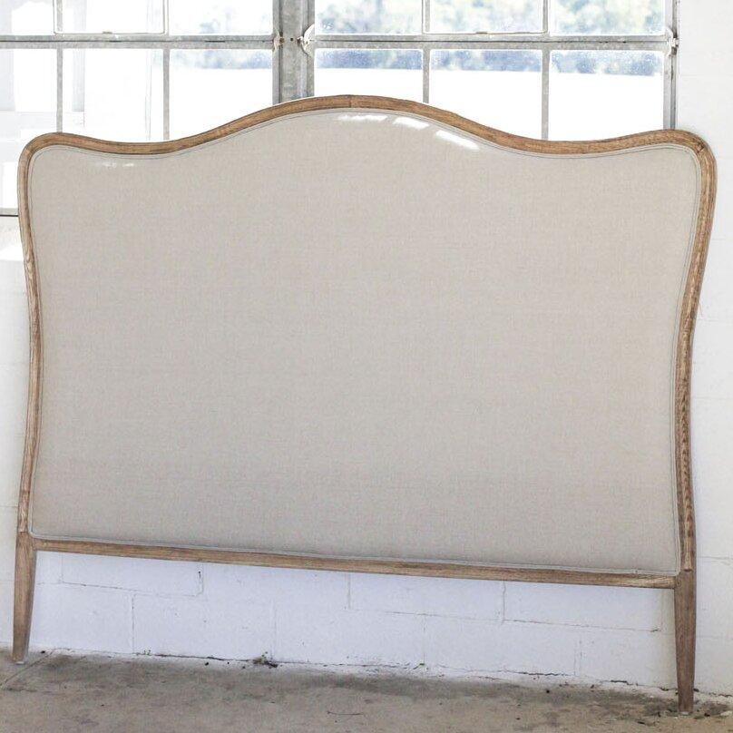 king fabric headboard