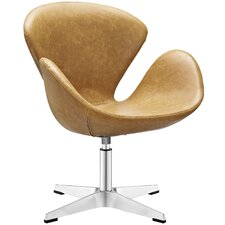 Flight Vinyl Lounge Chair by Modway