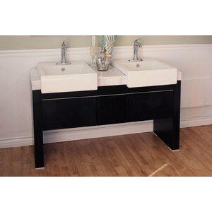 Essex 58 Double Bathroom Vanity Set Bellaterra Home