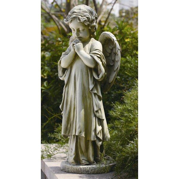 Roman, Inc. Young Praying Angel Garden Statue U0026 Reviews | Wayfair