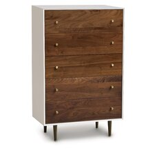 MiMo 5 Drawer Chest by Copeland Furniture