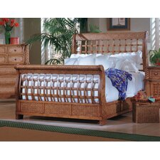 Palm Court King Sleigh Bed by Bay Isle Home