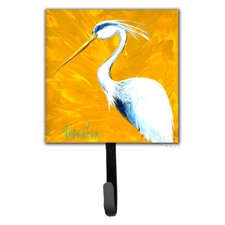 Blue Heron Col Mustard Wall Hook by Caroline's Treasures