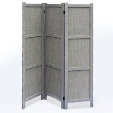 67 x 48 Terrance 3 Panel Room Divider by Screen Gems