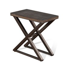 Brittani End Table by Union Rustic