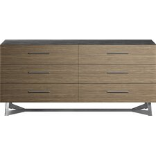 Broome 6 Drawer Dresser by Modloft
