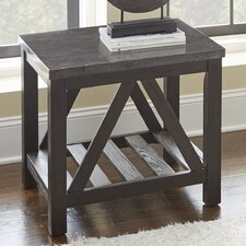 Livingston End Table by Gracie Oaks
