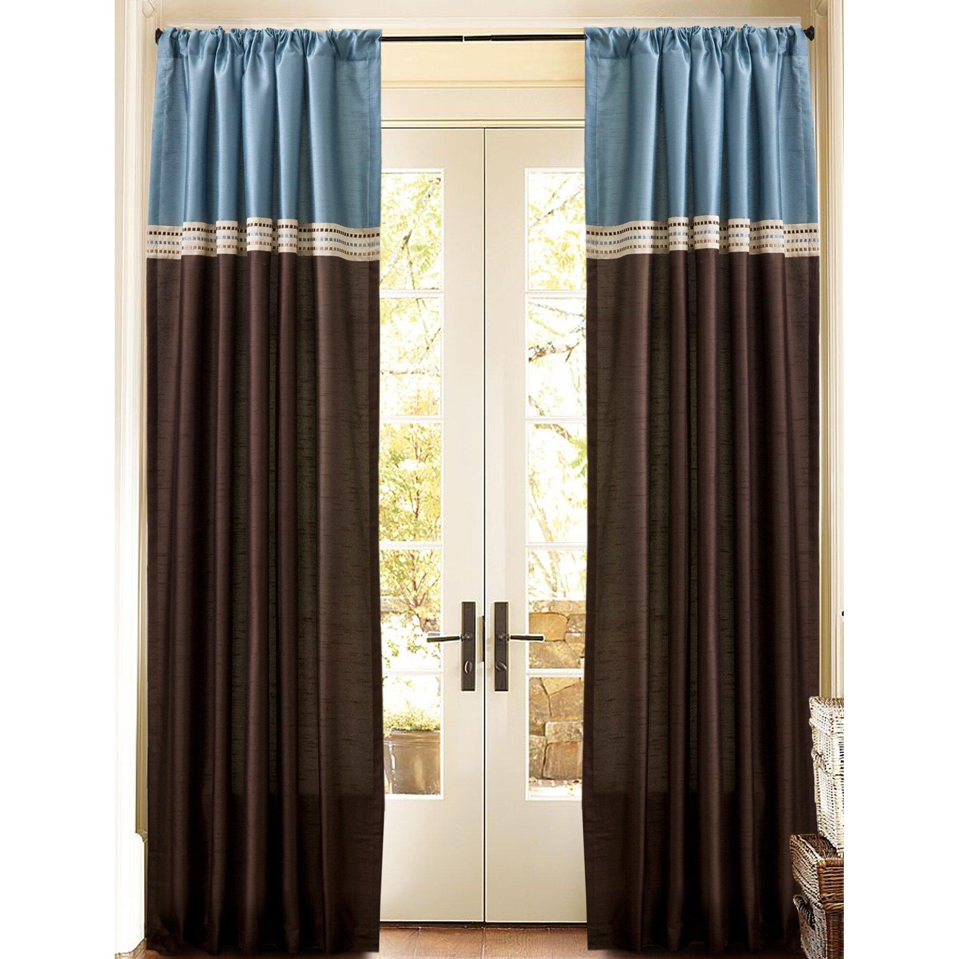 Alcott Hill Lefevre Solid Blackout Rod Pocket Curtain
