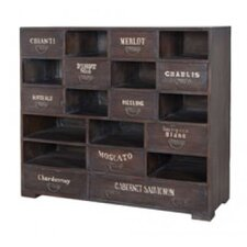Karlisa  Wine 10 Drawer Accent Chest by Laurel Foundry Modern Farmhouse