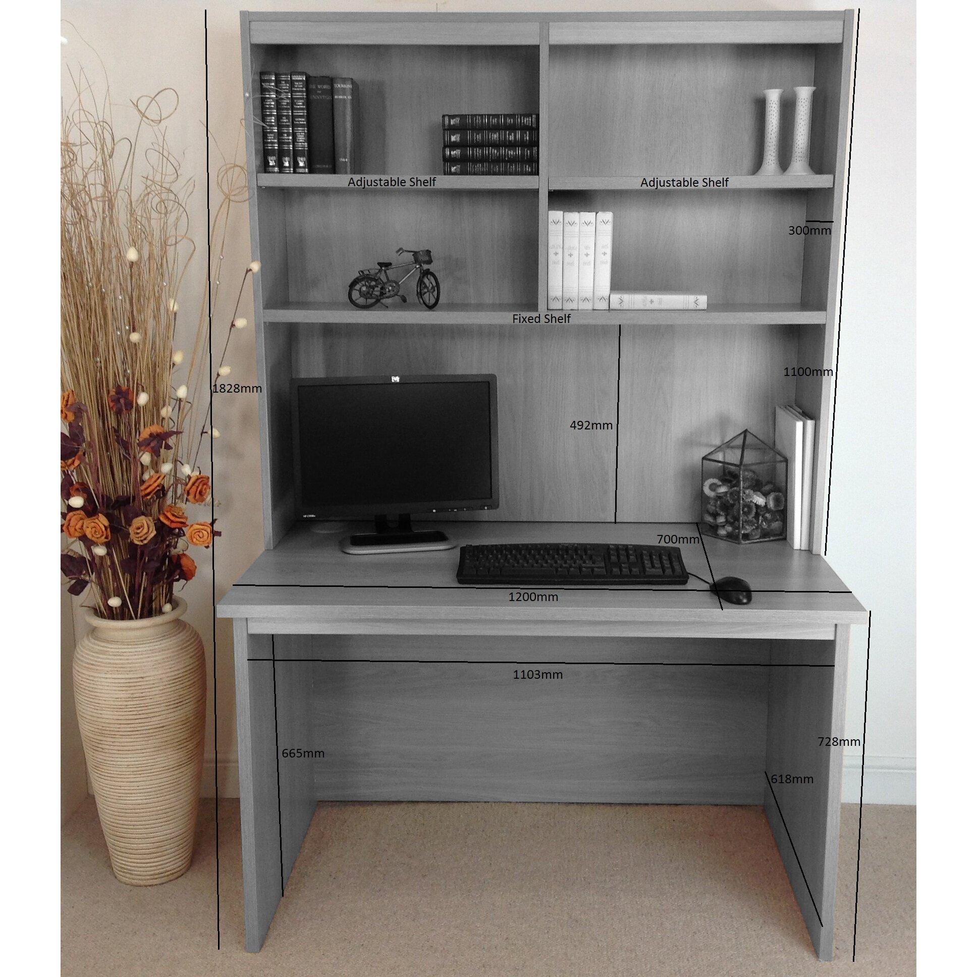 Schreibtisch Mit Aufsatz 2021