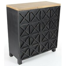 Ogden Well Built Wooden 2 Door Accent Cabinet by Gracie Oaks