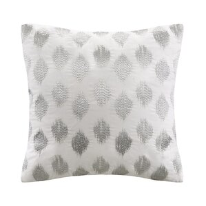 nadia dot 100 cotton throw pillow