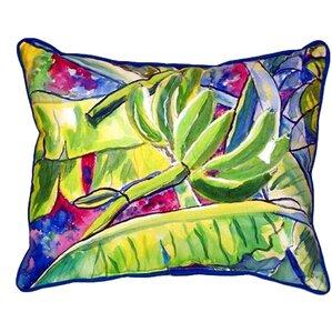 bananas lumbar pillow