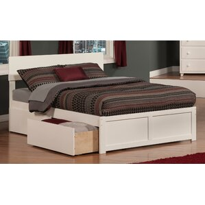 ahoghill storage platform bed - Drawer Bed Frame