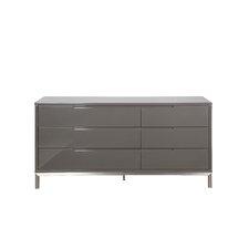 Keynsham 6 Drawer Dresser by Wade Logan