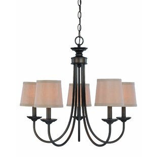 Best Choices Kissinger 5-Light Shaded Chandelier By Andover Mills