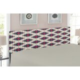 Ambesonne Native American Queen Upholstered Panel Headboard by East Urban Home