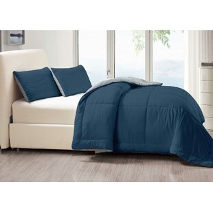 Gazaway 3 Piece Reversible Comforter Set by Ebern Designs
