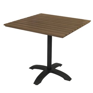 Eveleen 32 L x 32 W Square Table KFI Seating