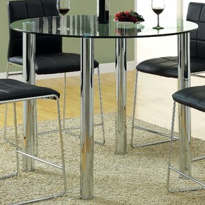 Rockaway Round Counter Height Dining Table by Wade Logan