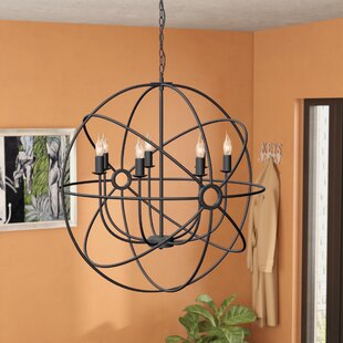 Affordable Geyer 7-Light Globe Chandelier By Brayden Studio